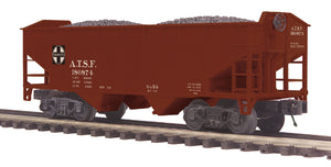 "MTH 20-97908 - 2-Bay Offset Hopper Car ""Santa Fe"""
