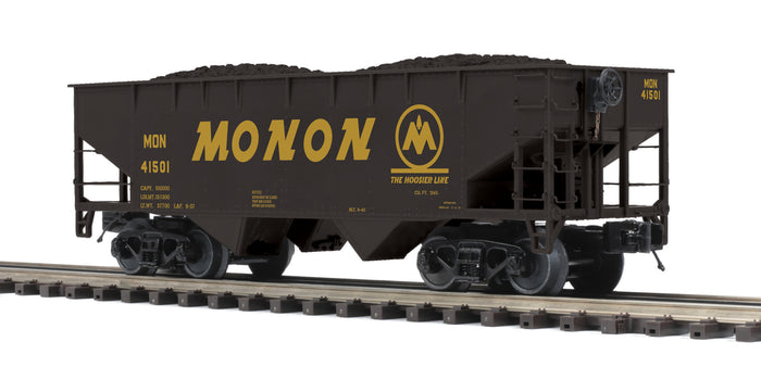 "MTH 20-97950 - Flat End Offset Hopper Car ""Monon"""
