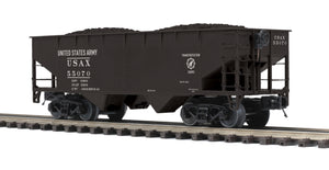 MTH 20-97951 U.S. Army Flat End Offset Hopper Car