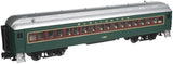"Atlas O 2001114 - Trainman - 60' Coach Car ""Burlington"""