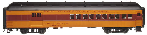 "Atlas O 2001214 - Trainman - 60' Combine Car ""Milwaukee"""