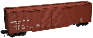 "Atlas O 2001561 - Trainman - 50' Single-Sheathed Boxcar ""Illinois Central"" (2-Rail)"