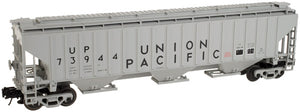 "Atlas O 2001668 - Trainman - PS-4750 Covered Hopper ""Union Pacific"" (2-Rail)"