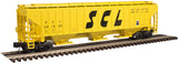 "Atlas O 2001629 - Trainman - PS-4750 Covered Hopper ""Seaboard Coast Line"""