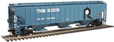 "Atlas O 2001627 - Trainman  - PS-4750 Covered Hopper ""Rock Island"""