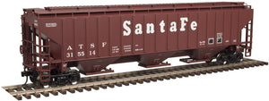 "Atlas O 2001628 - Trainman - PS-4750 Covered Hopper ""Santa Fe"""