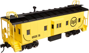"Atlas O 2001786 - Trainman - Bay Window Caboose ""U.S. Steel"" (2-Rail)"