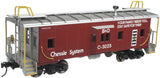 "Atlas O 2001727 - Trainman - Bay Window Caboose ""Chessie"""