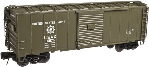 Atlas O AO-2002217 3RL TMAN 40' Sliding Door Box Car - US Army