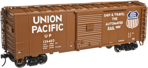 Atlas O AO-2002216 3RL TMAN 40' Sliding Door Box Car - Union Pacific