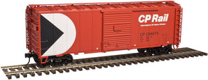 "Atlas O 2002221 - Trainman - 40' Sliding Door Box Car ""CP Rail"""