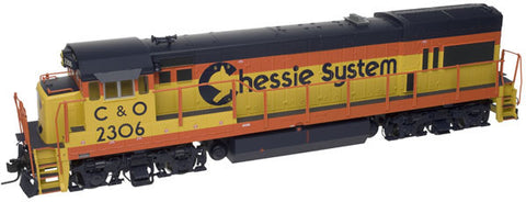 "Atlas O 20031020 - Trainman - U23B Locomotive ""Chessie"" #2306"