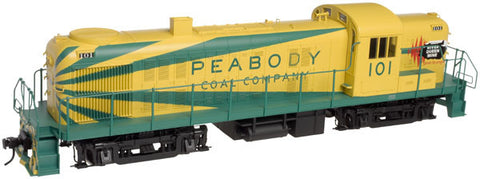 Atlas O 20033013 - Trainman - Alco RS-3 Peabody Coal Co. 101 (3 Rail)