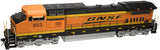 "Atlas O 20022001 - Trainman - Conventional - DASH 8-40CW Locomotive ""BNSF"" #828"