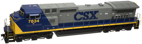"Atlas O 20032004 - Trainman - TMCC - DASH 8-40CW Locomotive ""CSX"" #7834"
