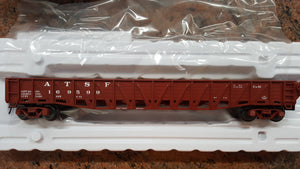"Atlas O 2002805 - Trainman - 52'6"" 70-Ton War Emergency Gondola ""Santa Fe"""