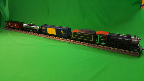 "MTH 30-4244-1 - 2-8-0 Steam Freight R-T-R Train Set ""Pennsylvania"" w/ PS3"