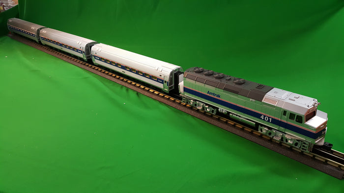 "MTH 30-4246-1 - F40PH Diesel R-T-R Passenger Train Set ""Amtrak"" w/ PS3"