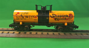"MTH 30-73535 - Smoking Tank Car ""Halloween"""