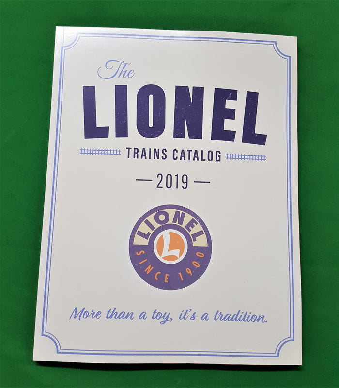 Lionel - Catalog 2019 - The Lionel Trains More Than a Toy - Vol.1