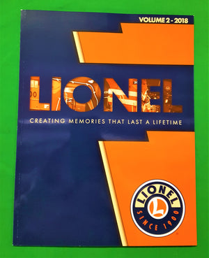 Lionel - Catalog 2018 - Lionel Creating Memories That Last A Lifetime - Vol. 2