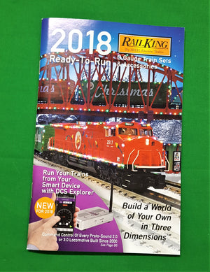 MTH - Catalog 2018 - MTH RailKing Ready-to-Run Train Set & Accessories
