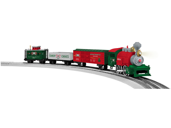 "Lionel 2023070 - LionChief Lionel Junction ""North Pole"" Freight Set w/ Illuminated track"