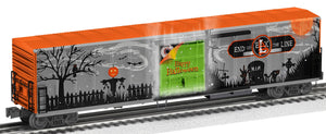 "Lionel 2026510 - Smoking 57' Mechanical Reefer ""Halloween"""