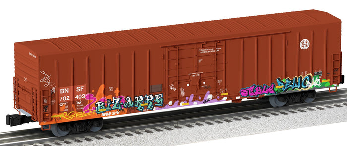 "Lionel 2026561 - Beer Car ""BNSF"" #782403 w/ Graffiti"