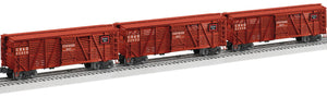 "Lionel 2026840 - Vision Line Stock Cars ""Chicago, Burlington & Quincy"" (3-Car)"