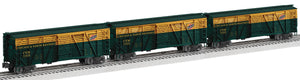 "Lionel 2026850 - Vision Line Stock Cars ""Chicago & North Western"" (3-Car)"