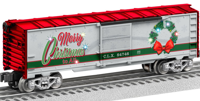 "Lionel 2028300 - Light Express Boxcar ""Christmas"""