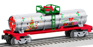 "Lionel 2028360 - Disney Mickey & Friends Tank Car ""Christmas"""