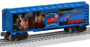 "Lionel 2028410 - 30th Anniversary Lighted Boxcar ""Christmas Vacation"""