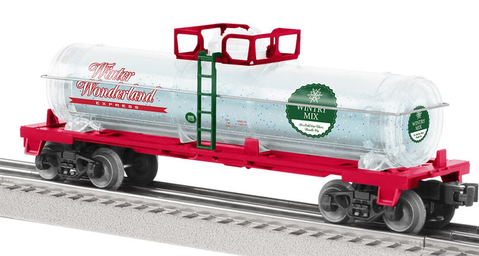 "Lionel 2028460 - Tank Car ""Wintery Mix"""