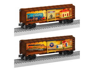 "Lionel 2028480 - Angela Trotta Thomas - 120 Years Best of Lionel Boxcar ""120th"""