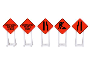 Lionel 2030240 - Construction Signs (5-pack)