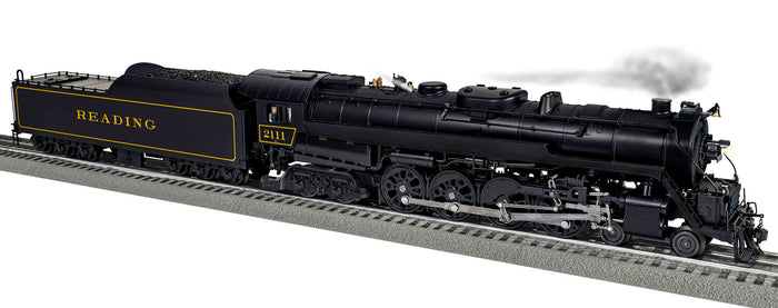 "Lionel 2031272 - Legacy T1 Steam Locomotive ""Reading"" #2111"