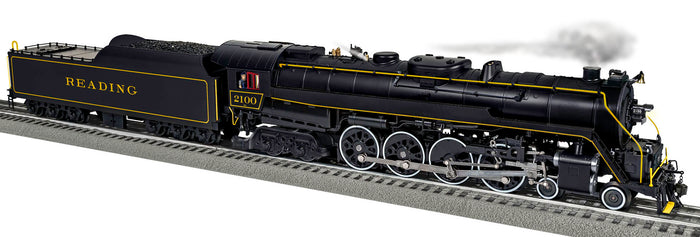 "Lionel 2031281 - Legacy T1 Steam Locomotive ""Reading"" #2100 (Rambles)"