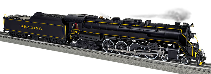 "Lionel 2031282 - Legacy T1 Steam Locomotive ""Reading"" #2101 (Rambles)"