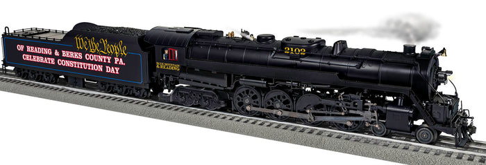 "Lionel 2031300 - Legacy T1 Steam Locomotive ""Blue Mountain & Reading"" #2102 (We the People)"