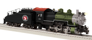 "Lionel 2031390 - Legacy B6sb Steam Locomotive ""Great Northern"" #90"