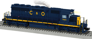 "Lionel 2033482 - Legacy SD40 Diesel Locomotive ""Chesapeake & Ohio"" #7464"