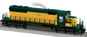 "Lionel 2033501 - Legacy SD40 Diesel Locomotive ""Chicago & North Western"" #867"
