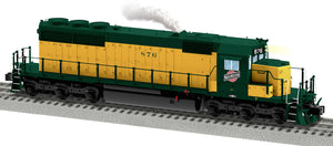"Lionel 2033502 - Legacy SD40 Diesel Locomotive ""Chicago & North Western"" #876"