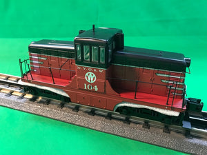 "MTH 20-20884-1 - G.E. 44 Ton Phase 1c Diesel Engine ""New York Ontario & Western"" w/ PS3 #102 (Hi-Rail Wheels)"