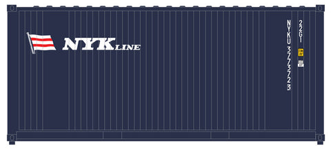 "Atlas O 2000005 - Trainman - 20' Containers ""NYK"" (2-Pack)"
