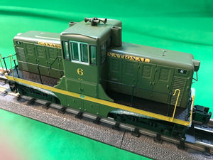 "MTH 20-21111-1 - G.E. 44 Ton Phase 1c Diesel Engine ""Canadian National"" #7 w/ PS3 (Hi-Rail Wheels)"
