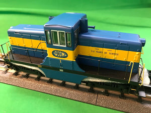 "MTH 20-21116-1 - G.E. 44 Ton Phase 3 Diesel Engine ""Middletown & New Jersey"" #1 w/ PS3 (Hi-Rail Wheels)"