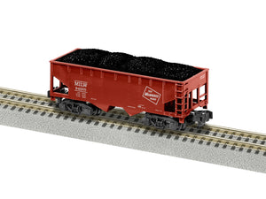 Lionel 2119281 A/F Milwaukee Road 2 Bay Hopper # 94005